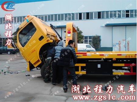 根据用户要求加装空调及用于拖货车的支架