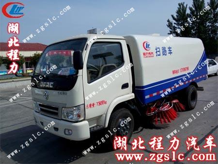 为客户提供门对门服务,葫芦岛锌厂满意购买湖北程力扫路车